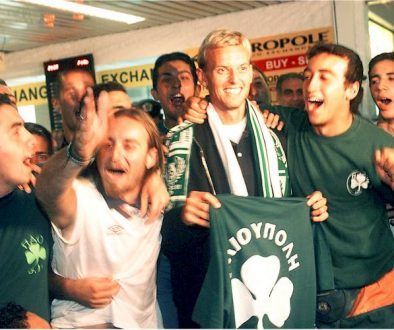 Υποδοχή Χένρικσεν το 1999