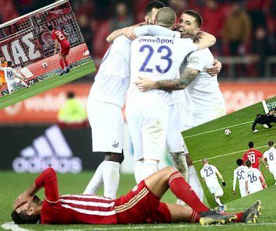 Ολυμπιακός - Λαμία 0-1, Κύπελλο