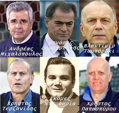 Προπονητές Β' Εθνική 1986-87